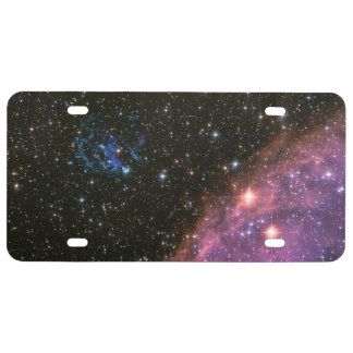Fireworks Small Magellanic Cloud License Plate