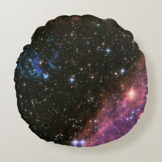 Fireworks Small Magellanic Cloud Round Pillow