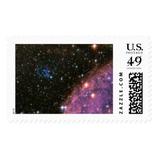 Fireworks Small Magellanic Cloud Postage Stamp