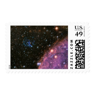 Fireworks Small Magellanic Cloud Stamp