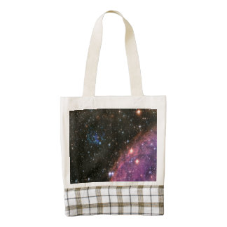 Fireworks Small Magellanic Cloud Zazzle HEART Tote Bag