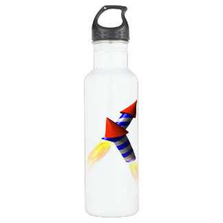 Fireworks Stainless Steel Water Bottle