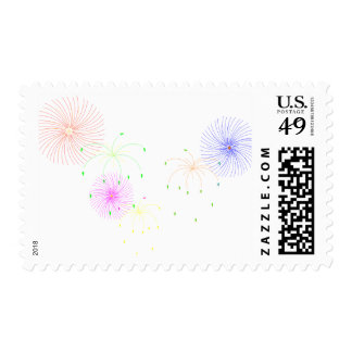 Fireworks Stamp