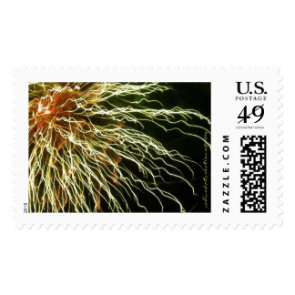 Fireworks Stamp First Class Postage