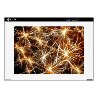 "Fireworks Stars Decal For 15"" Laptop"
