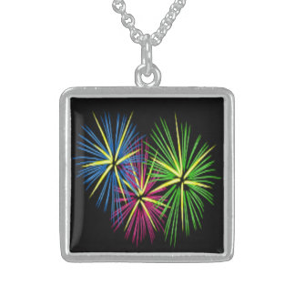 FIREWORKS STERLING SILVER NECKLACE
