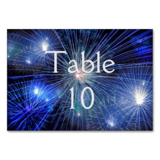 Fireworks Table Cards