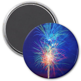 Fireworks to the sun putting magnet