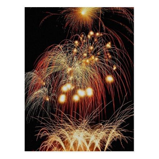 Fireworks, Toronto, Ontario, Canada Post Card