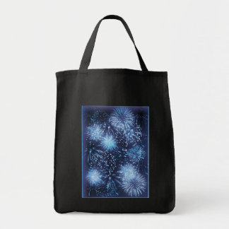 Fireworks tote bags