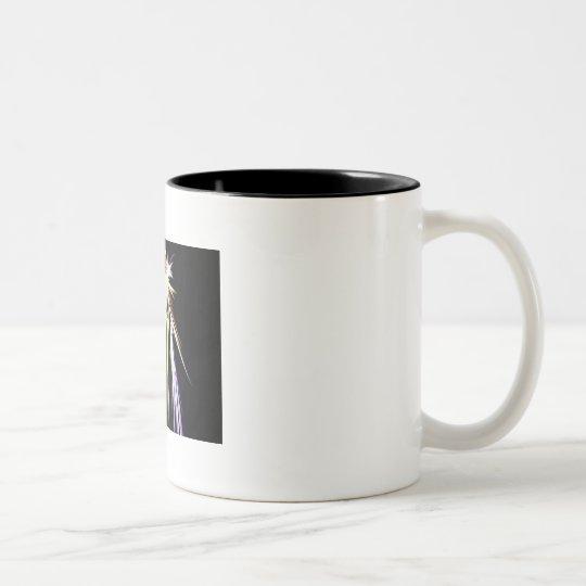 Fireworks Two-Tone Coffee Mug