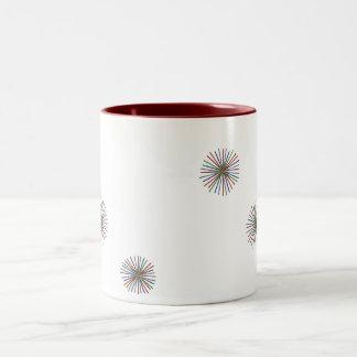 Fireworks Two-Tone Mug