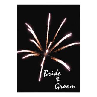 Fireworks Wedding Invitation