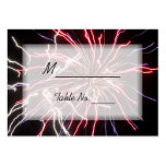 Fireworks Wedding Place Cards Business Card