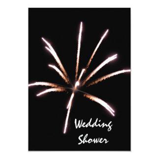 Fireworks Wedding Shower Invitation