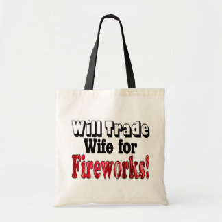 Fireworks Wife Trade Tote Bag