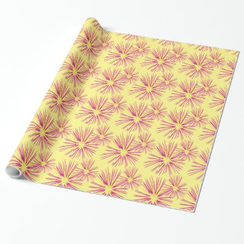 Fireworks Wrapping Paper by creativeconceptss at Zazzle