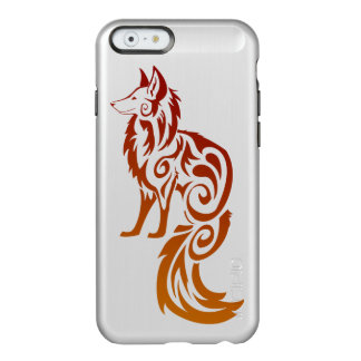 Firey Red Tribal Fox Kitsune Incipio Feather® Shine iPhone 6 Case