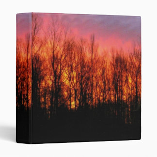 Firey Sunrise Photo Binder