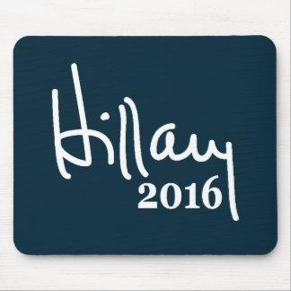 Firma 2016 de Hillary Mousepad