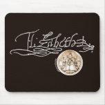 Firma de Elizabeth I (versión 1) Tapete De Ratones