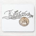Firma de Elizabeth I (versión 1) Tapetes De Ratón