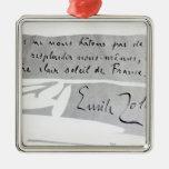 Firma de Emile Zola Ornamentos De Reyes Magos