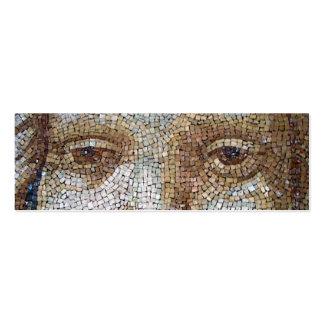 Firma de Geocache del mosaico de Vatican/tarjeta d Tarjetas Personales