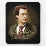 Firma de Gustav Mahler Alfombrillas De Ratones
