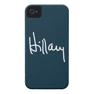 Firma de Hillary iPhone 4 Protector