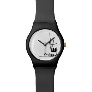 Firma de Hugo Chávez Relojes De Mano