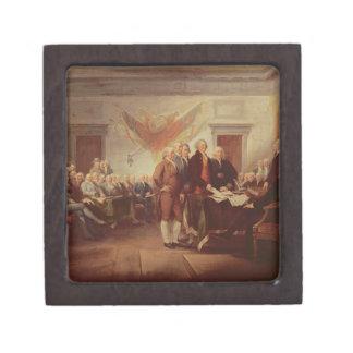 Firma de la Declaración de Independencia, 4to Caja De Joyas De Calidad