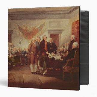 """Firma de la Declaración de Independencia, 4to Carpeta 1 1/2"""""""
