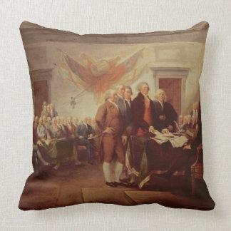 Firma de la Declaración de Independencia, 4to Cojines