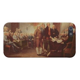 Firma de la Declaración de Independencia, 4to iPhone 5 Cárcasa