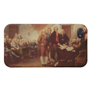 Firma de la Declaración de Independencia, 4to iPhone 4 Protectores