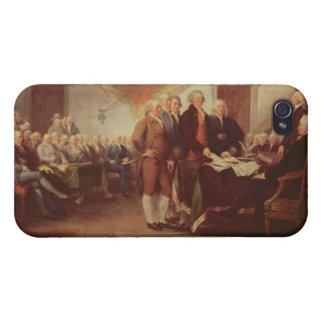 Firma de la Declaración de Independencia, 4to iPhone 4 Cárcasa