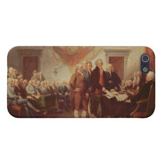 Firma de la Declaración de Independencia, 4to iPhone 5 Cárcasas