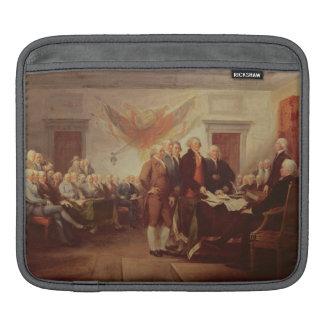 Firma de la Declaración de Independencia, 4to Fundas Para iPads