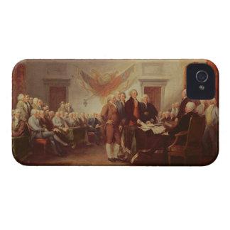 Firma de la Declaración de Independencia, 4to iPhone 4 Cobertura