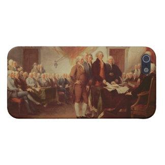 Firma de la Declaración de Independencia, 4to iPhone 5 Funda