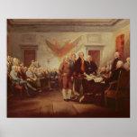 Firma de la Declaración de Independencia, 4to Póster