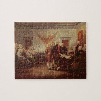 Firma de la Declaración de Independencia, 4to Puzzle