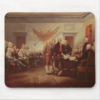 Firma de la Declaración de Independencia, 4to Tapetes De Raton