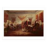 Firma de la Declaración de Independencia, 4to Tarjeta Postal