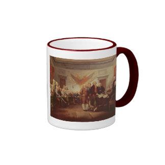 Firma de la Declaración de Independencia 4to Tazas De Café