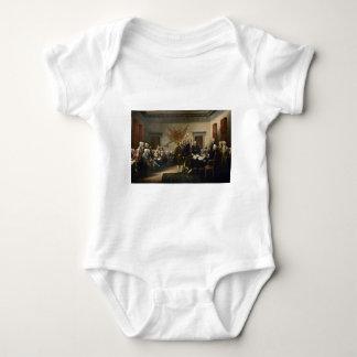 Firma de la Declaración de Independencia Body Para Bebé