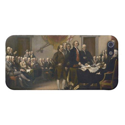 Firma de la Declaración de Independencia, el 4 de  iPhone 5 Funda