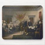 Firma de la Declaración de Independencia, el 4 de  Tapetes De Ratón