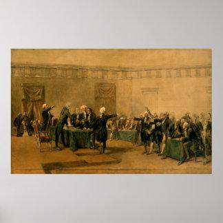Firma de la Declaración de Independencia Impresiones